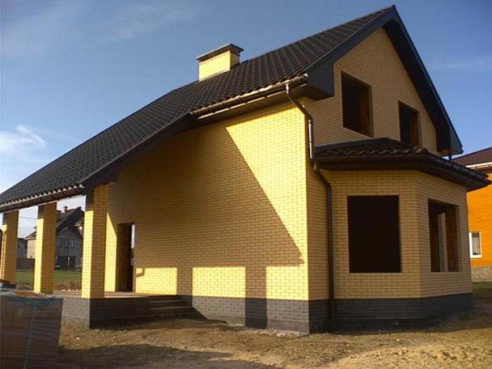 Белогородка, Корчи. Дом 130м2, облицов кирпич, керамический блок., утеплен перли 622135