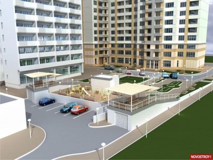 Жилой комплекс Руслан и Людмила расположен в непосредственной близости от парка  614926