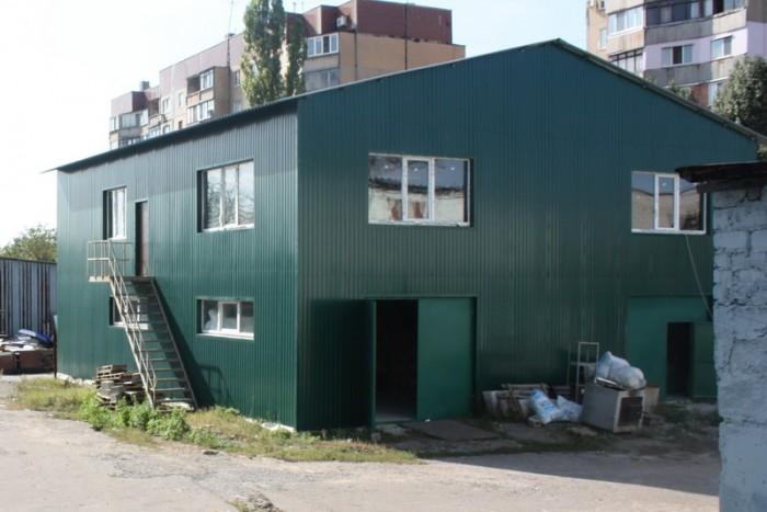 Складские помещения из фундаментных блоков с бетонным перекрытием:- Двухэтажное  641995