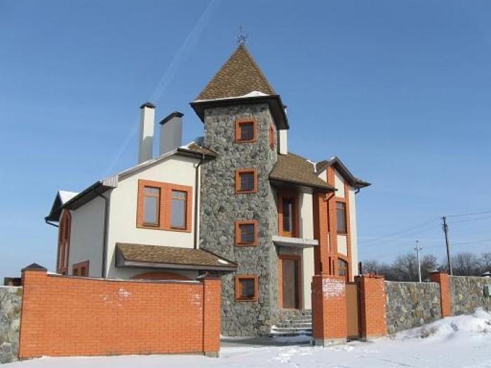 Продам новый дом в Новоалександровке. Район элитных застроек. Два этажа+подвал.  622204