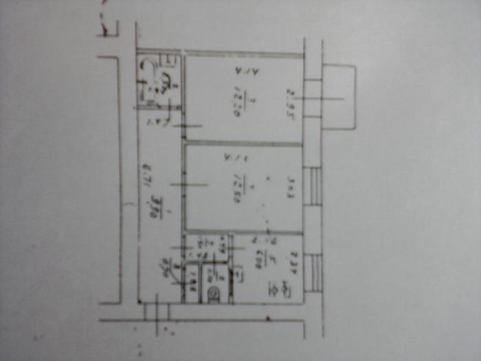 Раздельная сталинка в правительственном квартале, 1953 год, H=3.20 м, 47/25/6, к 615112