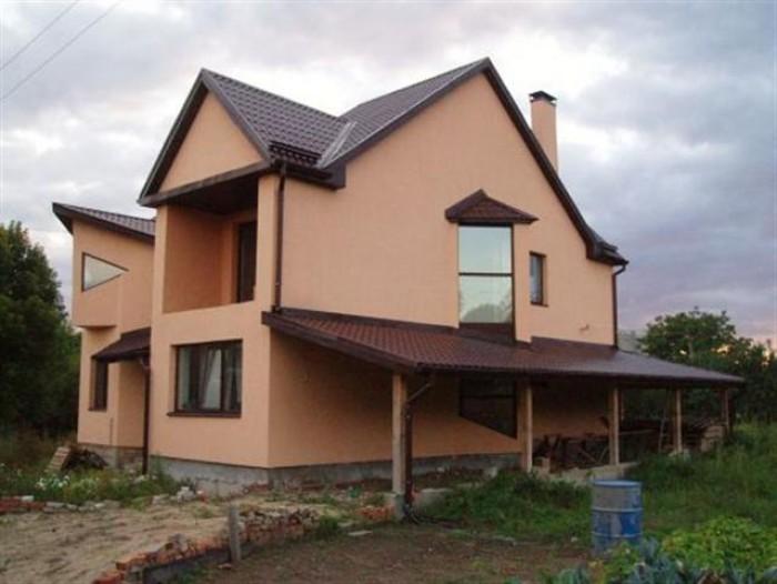 Площадь дома 370 м. кв, ок.80 готовности, современный проект, 4 этажа, второй св 622284