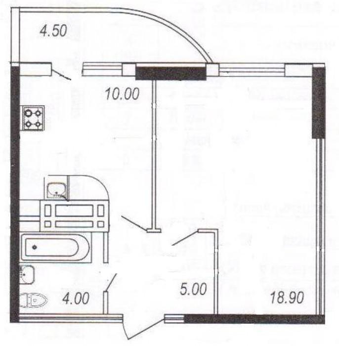 Новый жилой комплекс Новая Европа,монолитно-кирпичный 11- этажный  жилой дом,авт 615257
