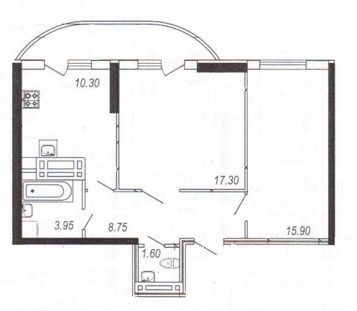 Новый жилой комплекс Новая Европа,монолитно-кирпичный 11- этажный  жилой дом,авт 615258