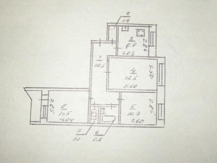 Продам 3-х комнатную квартиру на ж/м Победа-5, 1/10, 65,8/39,3/8,7. 68 000 у.е.  615284