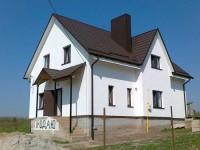 Дом, Белая Криница, кирпичный, 150кв.м, 4 комнаты, внешняя отделка (загрунтованн 621654