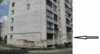 Квартира на первом этаже нового   десятиэтажного кирпичного  дома расположенного 613962