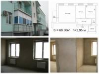 Двухкомнатная квартира в новом (2.5 года) трехэтажном кирпичном доме на улице Ко 614012