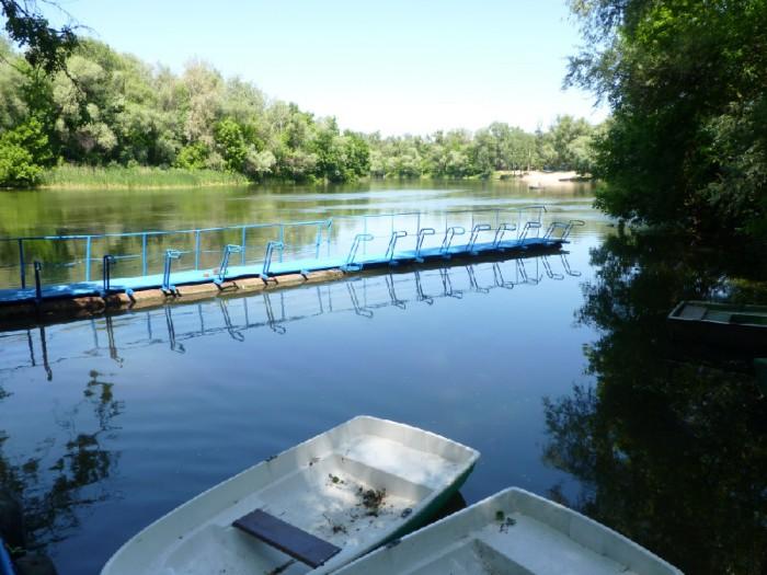 На берегу реки Северский Донец. Красивое, тихое, уютное и живописное место. Хоро 642188