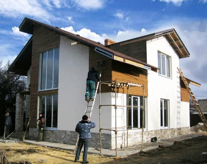 Новый дом из экологичного материала - автоклавного газобетона, отвечающего всем  622409