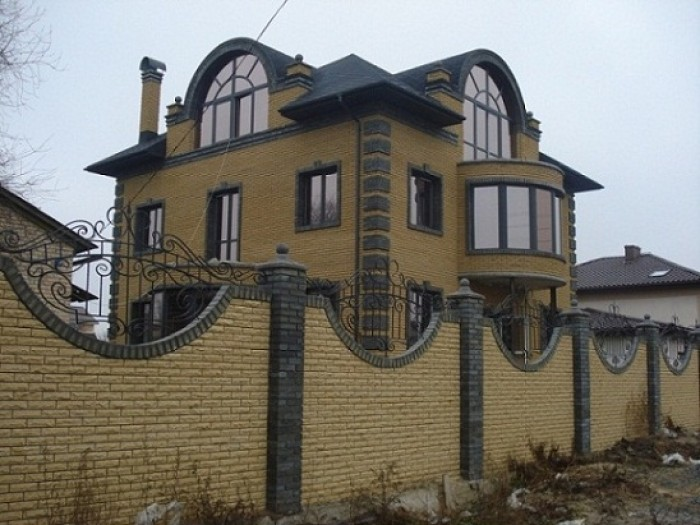 Начало Русановских садов. Коттедж на фасаде центральной дороги, 4 этажа, 530 м.к 622563