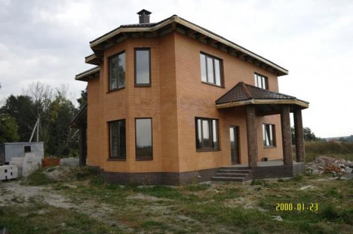 Пуховка, кирпичный дом, 215м.кв, 2 полных этажа, гостиная, кухня-столовая, камин 622586