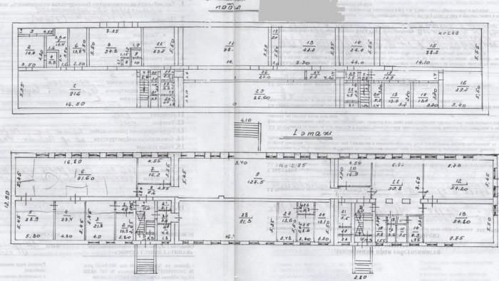 Продается отдельностоящее здание, 3 уровня + подвал, 2822 м.кв. на 60 сотках зем 642428