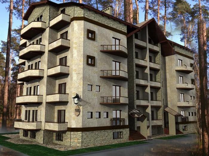 КВАРТИРА на цокольном этаже площадью  60 кв.м.в комплексе Лесная мелодия  вг. Ир 615985