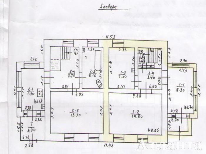 Крепкая 1/2 дома , 3 комнаты + отапливаемая веранда. Летняя кухня 60 кв.м, гараж 622631