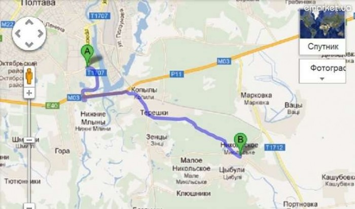 Продам ровный участок 12 соток на центральной улице села Никольское (9 км от Пол 631330