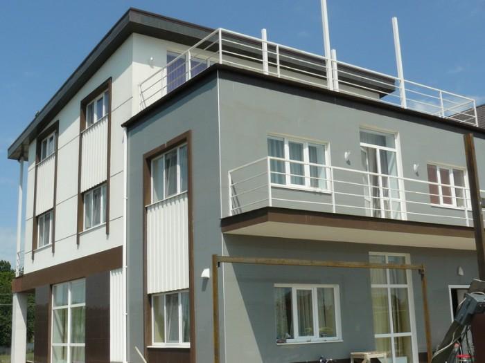 Продается новый 3-х уровневый дом в Совиньоне. Общая площадь  350 кв.м. 1 этаж - 622753
