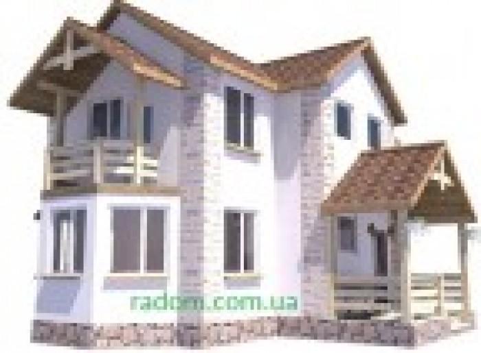 Новый дом, подходит для проживания небольшой семьи. полная планировка с учетом в 622838