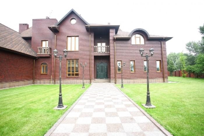 Продается дом с выходом на Днепр. Большая ДамбаКонча Заспа, коттедж в охраняемом 622863