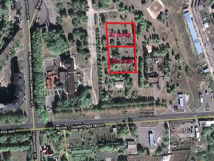 Продам земельный участок 22 сотки, Новые дома, проспект Героев Сталинграда, парк 631442