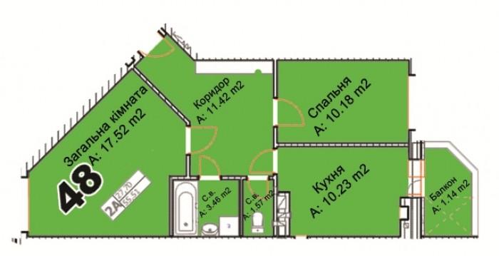 Квартира у самому серці мальвничого міста Буча. Переваги, які ви шукали: стоянка 616770