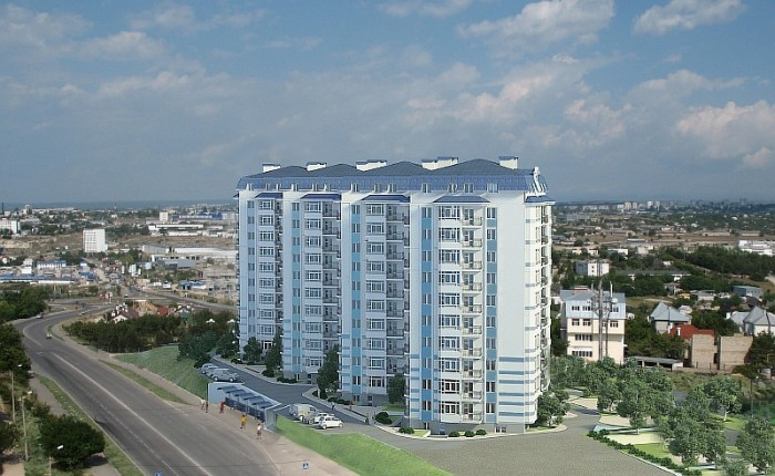Комплекс многоквартирных жилых домов Европейский по адресу ул.Маринеско 1-а.С па 617114