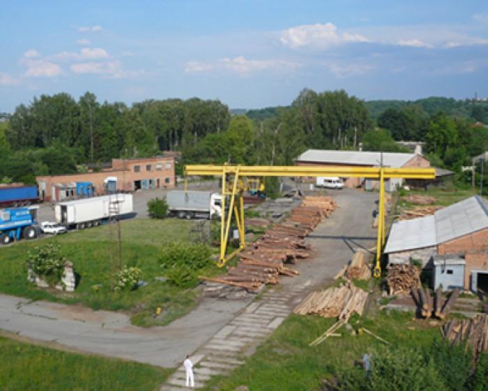 Продается действующая производственная база Будцентрдвір,г.БердичевТерритория зо 642822