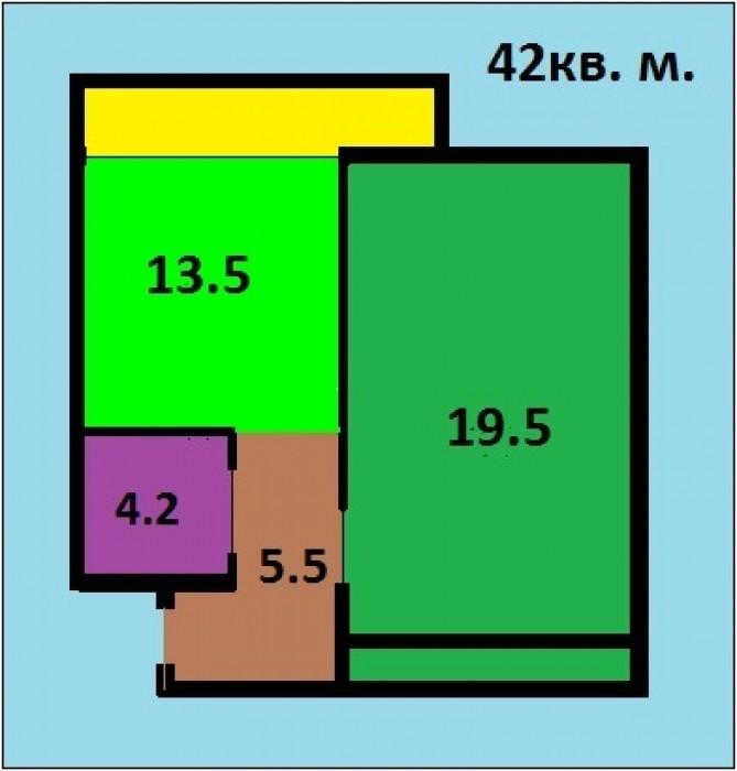 Лучшая однокомнатная квартира в новом доме по лучшей цене!Если Вы ищите себе про 617300