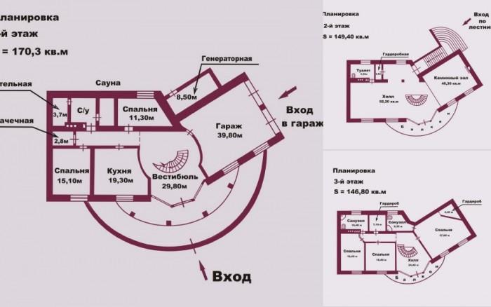 Хотите владеть домом своей мечты на 1-й линии от моря? Дом (467 кв.м) красив и ф 623159