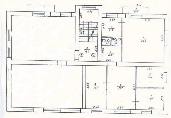 Продам. Офис, ул. Артема, 100 кв.м. (6 кабинетов, из них 4 отдельных, санузел),  642946