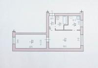 Продажа 2 комн. квартиры (45/31/6), 1 эт. 5 эт-го дома. 18 000 дол.Расположение: 617683