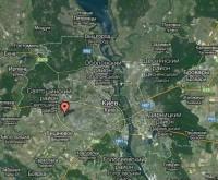 Курбаса ул., Борщаговка, по скоростному трамваю 3. Святошинская линия метро. Под 617689
