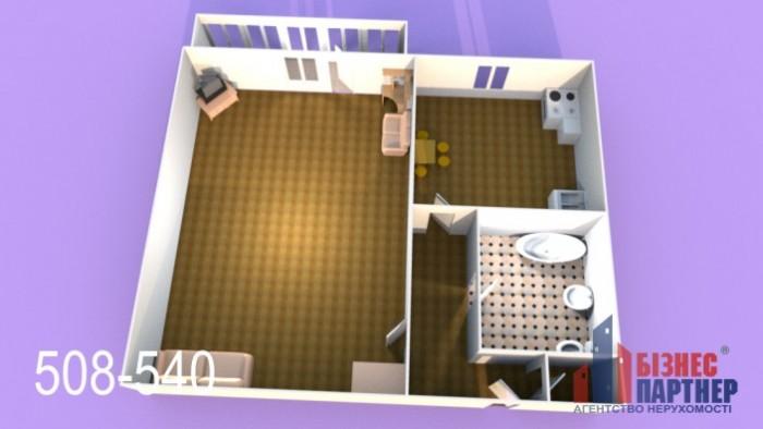 Продается 1 комнатная квартира на 2 этаже 9 этажного панельного дома по ул. Луна 617966