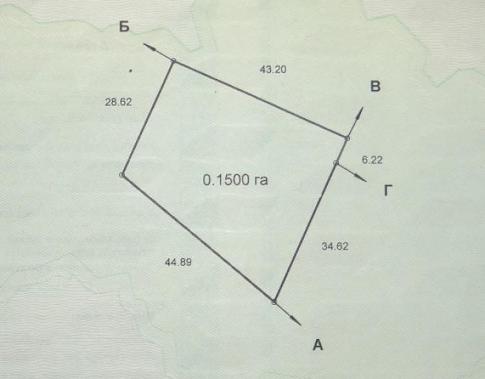 Продам участок в Кировском 15 соток за 14 тысяч расположен в удобном месте все к 631683