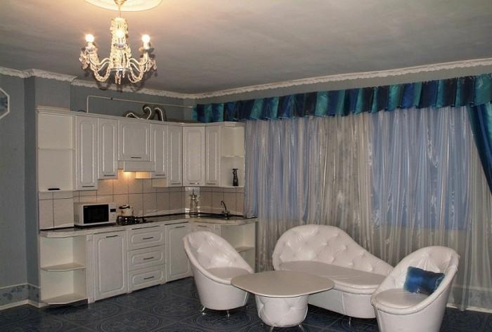 Шикарный, очень красивый двухкомнатный дом в Донецке с евроремонтом, светлой меб 623372