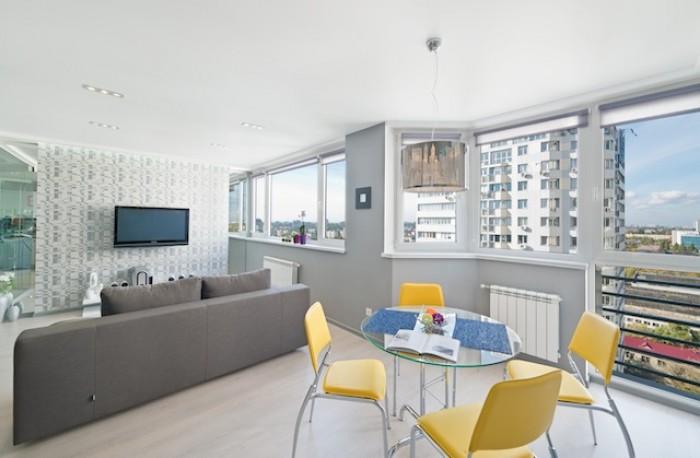 2х комнатная студия по ул. Б. Гетьмана 1, 21 этаж, общая площадь 60м2.&8232;Диза 618207