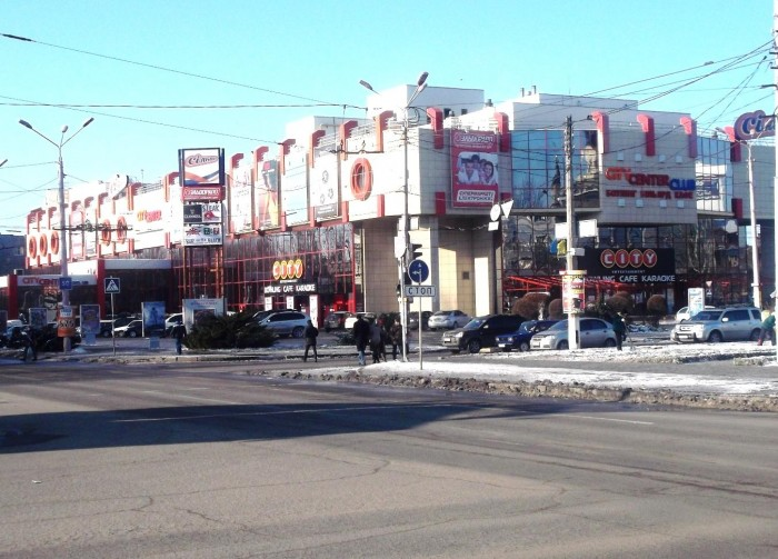 Торговые площади в торгово-развлекательном  центре City-Center
