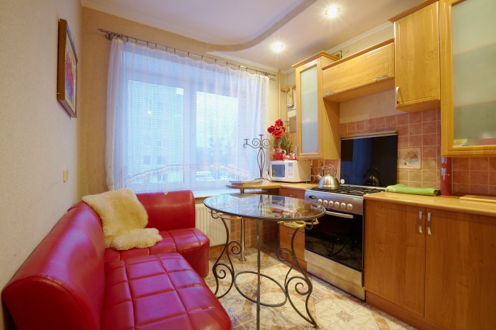 Однокомнатная квартира расположена по ул.Кн.Ольги,5к на 3-ем этаже 5-ти этажного 612232