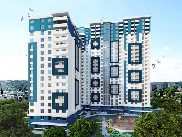 89 м2 , 8эт/18 эт, видовые, выбор этажей и планировок. Все удобства современной 616980
