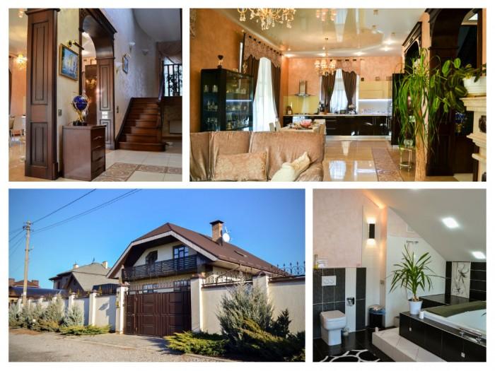 Продается дом современной постройки с дизайнерским ремонтом