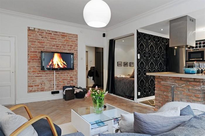 Квартиры студии по низким ценам в новом доме в центре города.