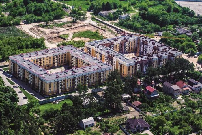 2-комнатная квартира 55,59 кв.м в ЖК Сонцтаун. с. Чайки