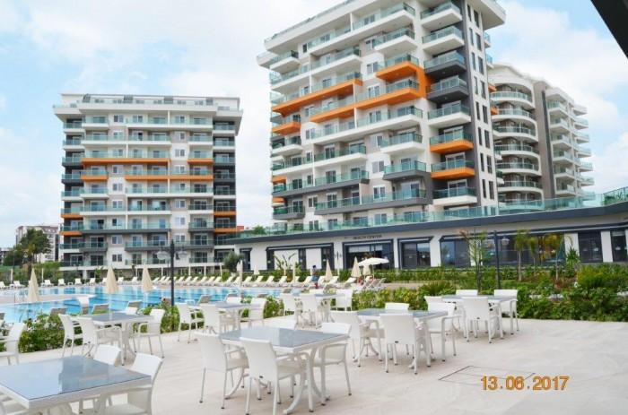 Продаются квартиры в ЖК Siberland - Olive Garden (Алания, Турция):