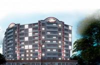 Канев, однокомнатная квартира 33.9м2 автономное отопление